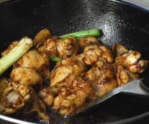 Poulet cocotte aux marrons