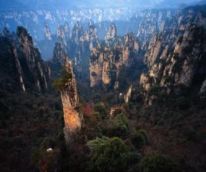 Forteresse de montagne de Huangsh